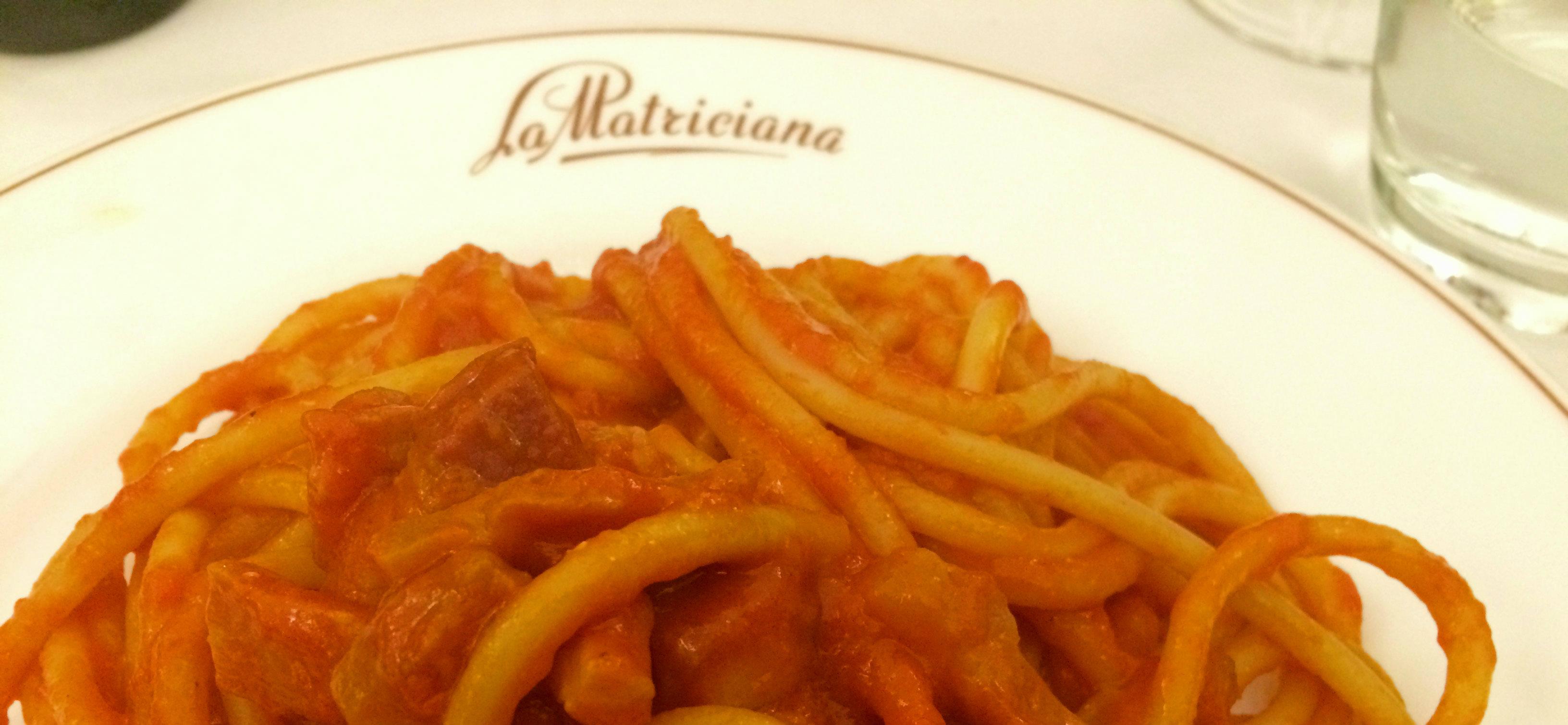 """Onde comer o tradicional """"Amatriciana"""" em Roma"""