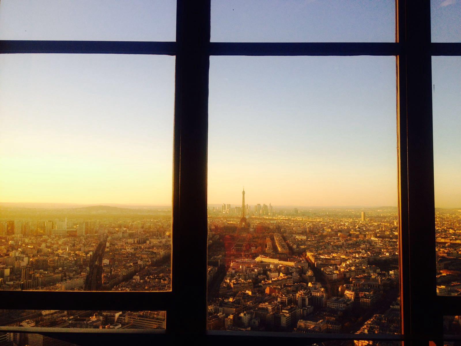 Você conhece o céu de Paris?